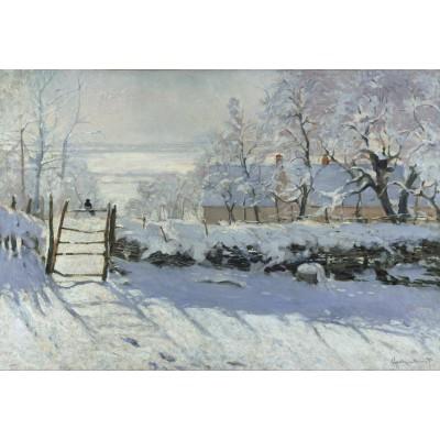 Grafika-Kids-00081 Pièces XXL - Claude Monet : La Pie, 1868-1869