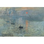 Grafika-Kids-00089 Claude Monet : Impression au Soleil Levant, 1872