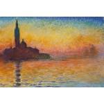 Grafika-Kids-00095 Pièces XXL - Claude Monet : Saint-Georges-Majeur au Crépuscule, 1908