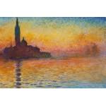 Grafika-Kids-00097 Claude Monet : Saint-Georges-Majeur au Crépuscule, 1908