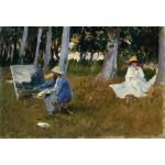 Grafika-Kids-00101 Pièces XXL - Claude Monet by John Singer Sargent, 1885