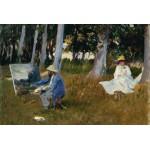 Grafika-Kids-00103 Claude Monet by John Singer Sargent, 1885