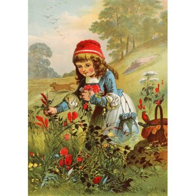 Grafika-Kids-00105 Le Petit Chaperon Rouge, illustration par Carl Offterdinger