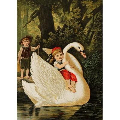 Grafika-Kids-00114 Hansel et Gretel, illustration par Carl Offterdinger
