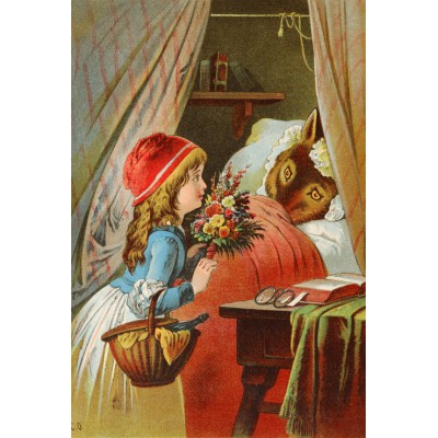 Grafika-Kids-00121 Le Petit Chaperon Rouge, illustration par Carl Offterdinger