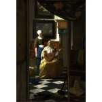 Grafika-Kids-00155 Pièces XXL - Vermeer Johannes : La lettre d'amour, 1669-1670