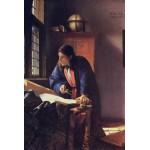 Grafika-Kids-00163 Vermeer Johannes: Le Géographe, 1668-1669