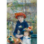 Grafika-Kids-00164 Pièces XXL - Auguste Renoir : Deux Soeurs sur la Terrasse, 1881