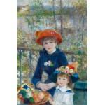 Grafika-Kids-00166 Auguste Renoir : Deux Soeurs sur la Terrasse, 1881