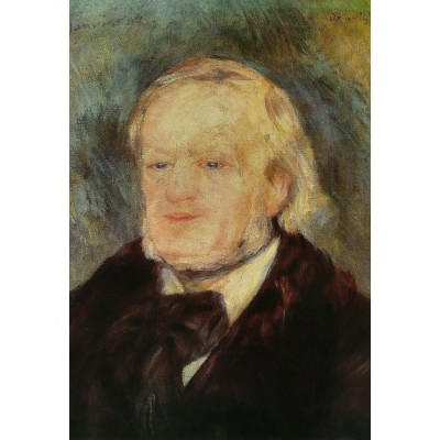 Grafika-Kids-00167 Pièces XXL - Renoir Auguste : Richard Wagner, 1882