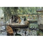 Grafika-Kids-00178 Auguste Renoir : La Grenouillère, 1869