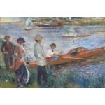 Grafika-Kids-00179 Pièces XXL - Renoir Auguste : Canoteurs à Chatou, 1879