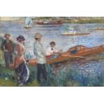 Grafika-Kids-00181 Renoir Auguste : Canoteurs à Chatou, 1879