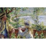 Grafika-Kids-00185 Pièces XXL - Renoir Auguste : Près du Lac, 1879
