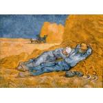 Grafika-Kids-00198 Pièces Magnétiques - Van Gogh Vincent : La Sieste (d'après Millet), 1890