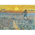 Grafika-Kids-00199 Pièces Magnétiques - Van Gogh Vincent : Le Semeur, 1888