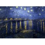 Grafika-Kids-00201 Pièces Magnétiques - Vincent Van Gogh : La Nuit Etoilée, 1888