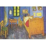 Grafika-Kids-00203 Pièces Magnétiques - Vincent Van Gogh : La Chambre de Van Gogh à Arles, 1888