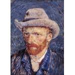Grafika-Kids-00204 Pièces Magnétiques - Vincent Van Gogh : Autoportrait, 1887-1888