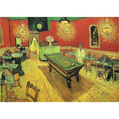 Grafika-Kids-00206 Pièces Magnétiques - Van Gogh Vincent : Le Café de Nuit, 1888
