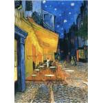 Grafika-Kids-00207 Pièces Magnétiques - Vincent Van Gogh : Terrasse de Café sur la Place du Forum, 1888