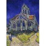 Grafika-Kids-00209 Pièces Magnétiques - Vincent Van Gogh : L'église d'Auvers-sur-Oise, 1890