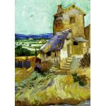 Grafika-Kids-00212 Pièces Magnétiques - Vincent Van Gogh : Le Vieux Moulin, 1888