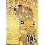 Grafika-Kids-00222 Pièces Magnétiques - Klimt Gustav : L'étreinte
