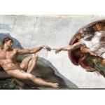 Grafika-Kids-00223 Pièces Magnétiques - Michel Ange : La Création d'Adam de la chapelle Sixtine, 1508-1512