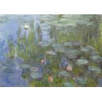 Grafika-Kids-00227 Pièces Magnétiques - Claude Monet : Nymphéas, 1915