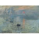Grafika-Kids-00228 Pièces Magnétiques - Claude Monet : Impression au Soleil Levant, 1872