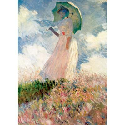 Grafika-Kids-00229 Pièces Magnétiques - Claude Monet : La Femme à l'Ombrelle, 1875
