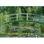 Grafika-Kids-00230 Pièces Magnétiques - Monet Claude : Le Bassin aux Nymphéas et le Pont Japonais, 1897-1899