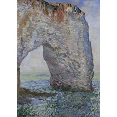 Grafika-Kids-00232 Pièces Magnétiques - Claude Monet : Le Manneporte à Étretat, 1886
