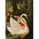 Grafika-Kids-00237 Pièces Magnétiques - Hansel et Gretel, illustration par Carl Offterdinger