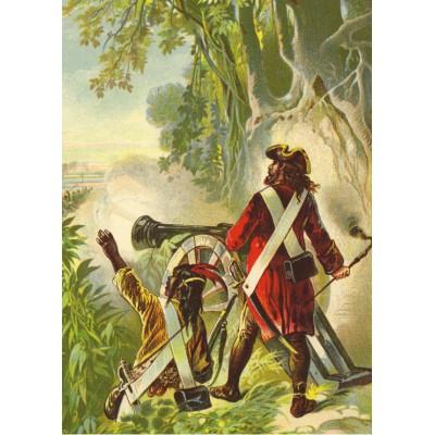Grafika-Kids-00247 Pièces Magnétiques - Robinson Crusoe par Offterdinger & Zweigle