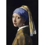 Grafika-Kids-00249 Pièces Magnétiques - Vermeer Johannes : La Jeune Fille à la Perle, 1665