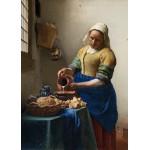 Grafika-Kids-00250 Pièces Magnétiques - Vermeer Johannes : La Laitière, 1658-1661