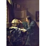 Grafika-Kids-00252 Pièces Magnétiques - Vermeer Johannes : L'Astronome, 1668
