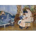 Grafika-Kids-00260 Pièces Magnétiques - Auguste Renoir : L'après-midi des enfants à Wargemont, 1884