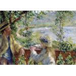 Grafika-Kids-00261 Pièces Magnétiques - Renoir Auguste : Près du Lac, 1879