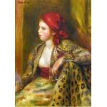 Grafika-Kids-00262 Pièces Magnétiques - Renoir Auguste : Odalisque, 1895