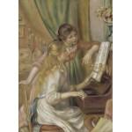 Grafika-Kids-00264 Pièces Magnétiques - Auguste Renoir : Jeunes filles au piano, 1892