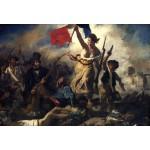 Grafika-Kids-00285 Pièces XXL - Delacroix Eugène : La Liberté Guidant le Peuple, 1830