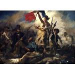 Grafika-Kids-00287 Pièces Magnétiques - Delacroix Eugène : La Liberté Guidant le Peuple, 1830