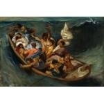 Grafika-Kids-00291 Delacroix Eugène : Christ sur la Mer de Galilée, 1841
