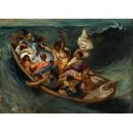 Grafika-Kids-00292 Pièces Magnétiques - Delacroix Eugène : Christ sur la Mer de Galilée, 1841