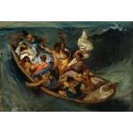 Grafika-Kids-00294 Pièces XXL - Delacroix Eugène : Christ sur la Mer de Galilée, 1841