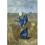 Grafika-Kids-00299 Vincent Van Gogh: Femme Paysan d'après Millet