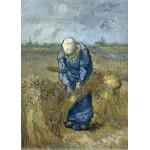 Grafika-Kids-00300 Pièces Magnétiques - Vincent Van Gogh: Femme Paysan d'après Millet